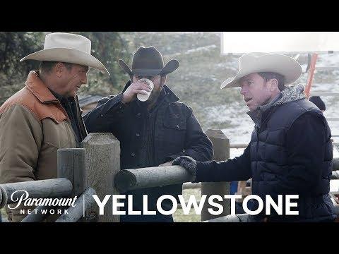 BTS Look at Yellowstone w Kevin Costner, Taylor Sheridan & More!  Paramount Network