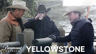 BTS Look at Yellowstone w/ Kevin Costner, Taylor Sheridan & More! | Paramount Network