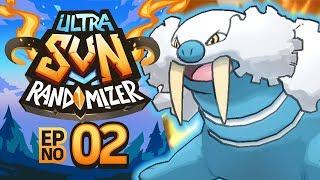 Pokemon Ultra Sun Randomizer Nuzlocke - Episode 02 | BY THE WHISKERS!