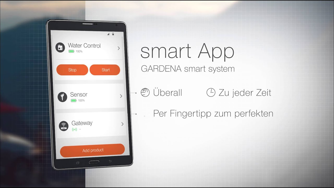 gardena smart system app youtube. Black Bedroom Furniture Sets. Home Design Ideas