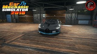 Car Mechanic Simulator 2018 Building Bugatti Divo