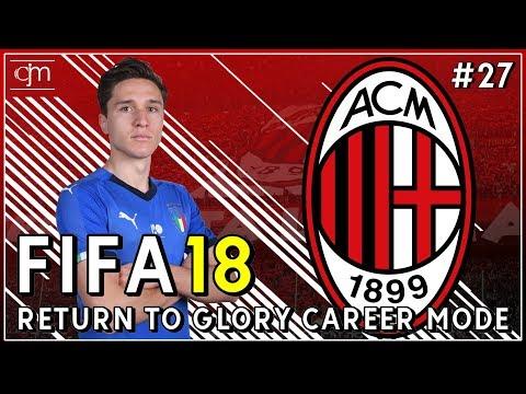 FIFA 18 AC Milan Career Mode: Federico Chiesa & Gianluca Mancini Punya Potensi Besar #27