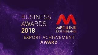 Medilink East Midlands Awards 2018 Export Award Nominees