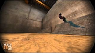 Ligne au park de Black Box (Skate 3)