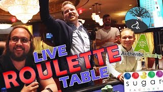 Roulette LIVE from Foxwoods Casino, US | Vlog 26