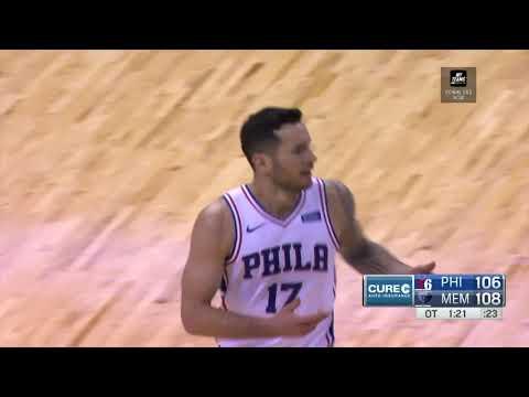 JJ Redick | Highlights vs Memphis Grizzlies (11.10.18)