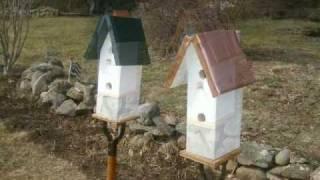 Bird Houses For Sale - Easton Mass.