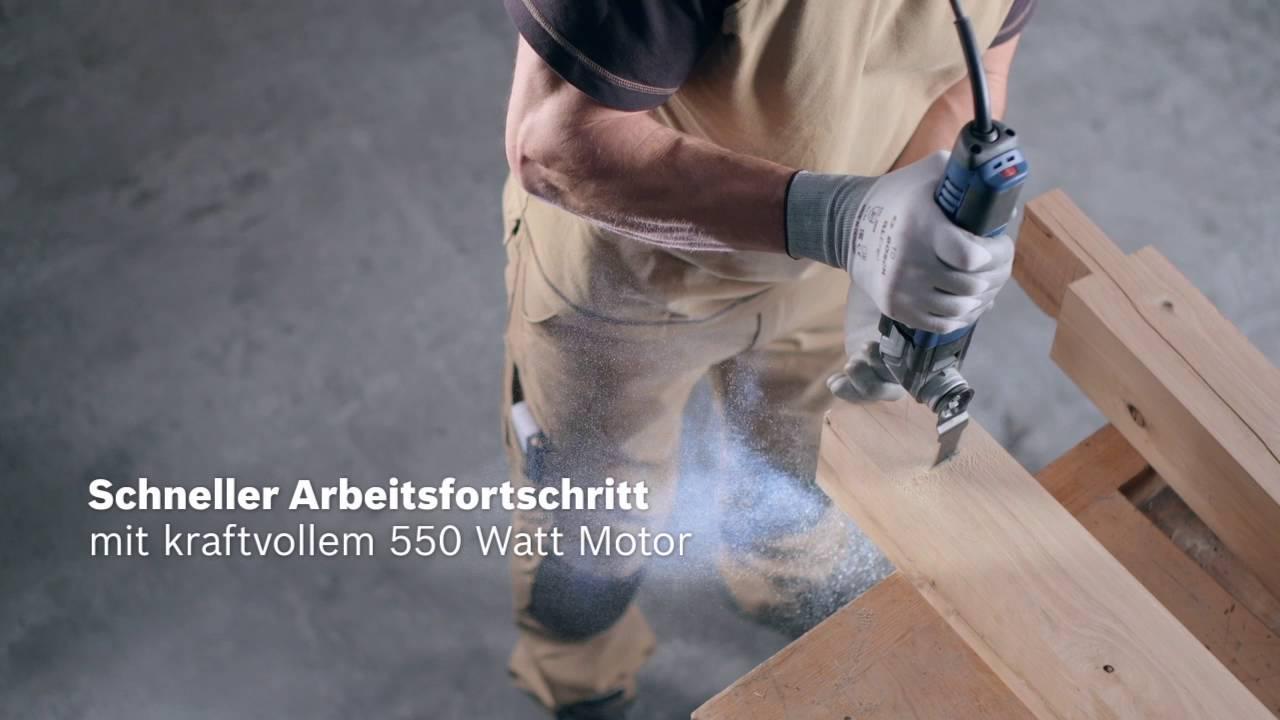 Frisch Bosch Multi-Cutter GOP 55-36 Professional - YouTube TY84