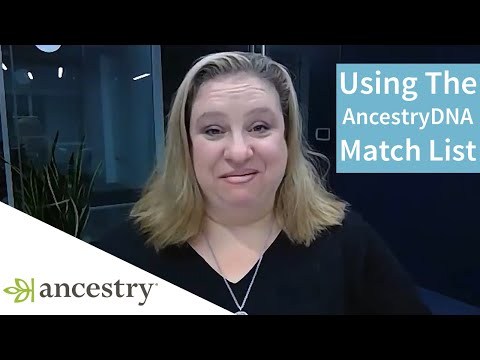 Making Discoveries With the New and Improved AncestryDNA Match List   Ancestry