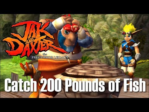 Jak And Daxter - Hand Over Fish (Catch 200 Pounds Of Fish)