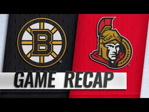 Krug scores in OT as Bruins top Senators