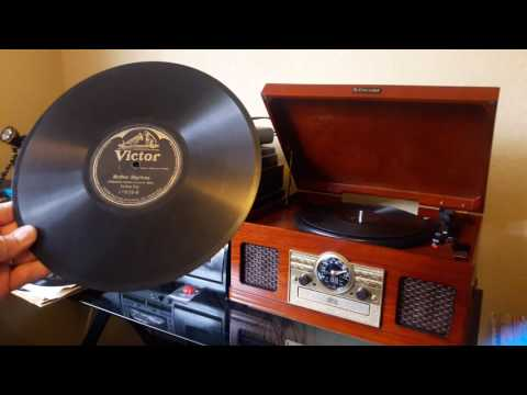 78 RPM Record History & Sample!