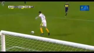 Gol de #RicardoCenturion - Aldosivi 0 - 2 Boca - Futbol de Argentina 2017 - Fecha 28