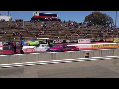 Adelaide drag cars burnout