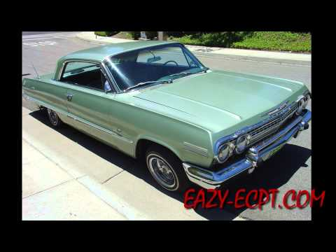 Exclusive! Rare! EazyEs 1963 Impala Resurfaced! #eazye