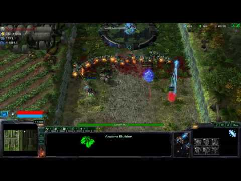 StarCraft 2 Squadron tower defence Maxed wave 15 Veteran chaos refined