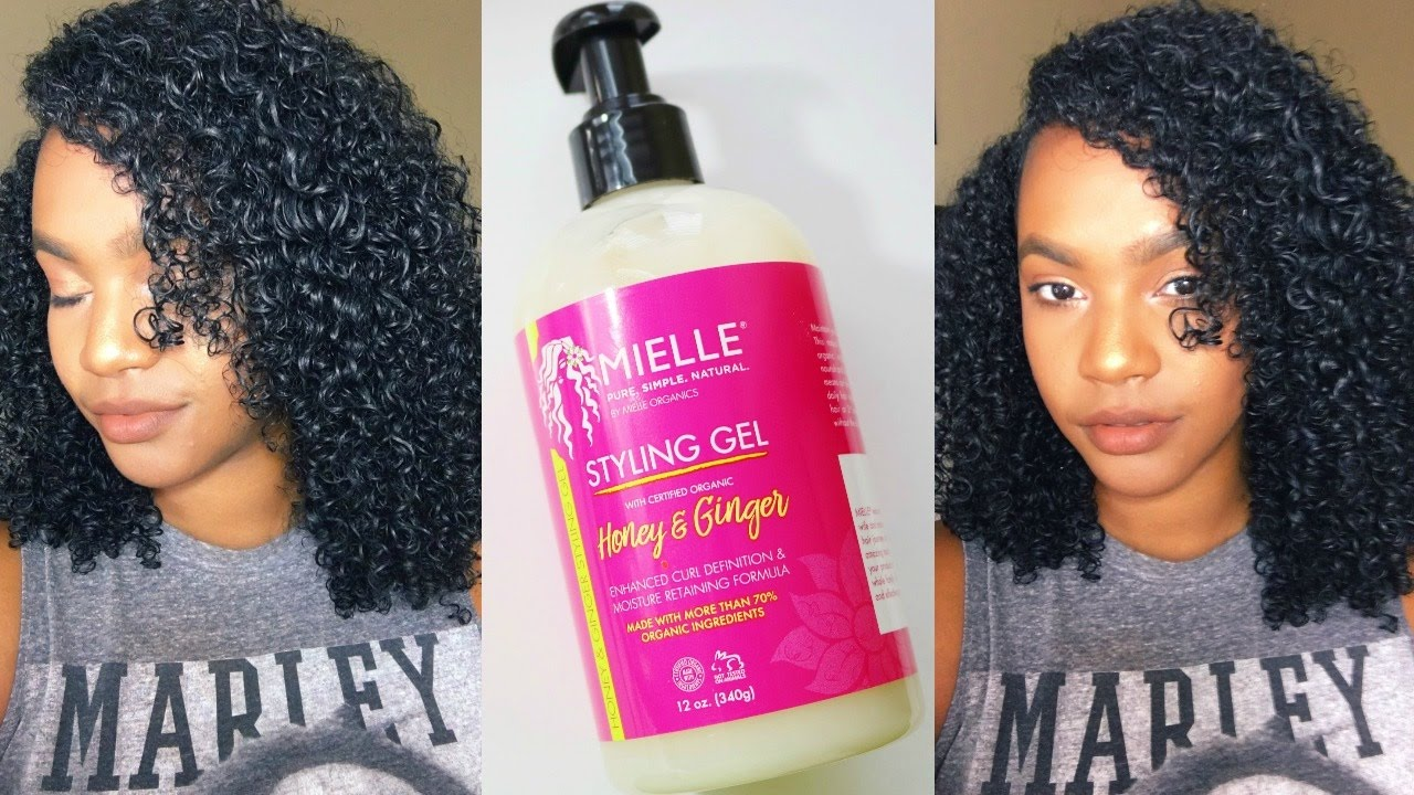 styling products for natural hair mielle organics honey amp styling gel review demo 1140 | maxresdefault