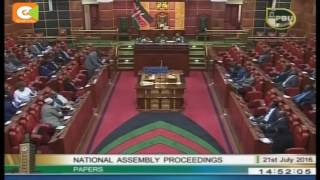 Election Laws Amendment Bill 2016 sails through second reading