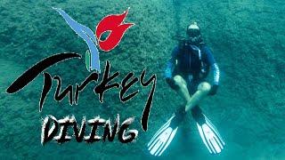 diving in Turkey Antalya