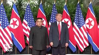 President Trump and North Korean leader Kim Jong un share historic handshake