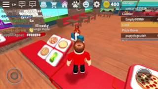 Pizza Delivery ROBLOX