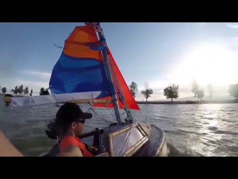 Raw Footage, Pocket Yacht, Utah Lake, 2015