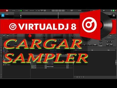 Tutorial  Virtual dj 8 Cargar Sampler