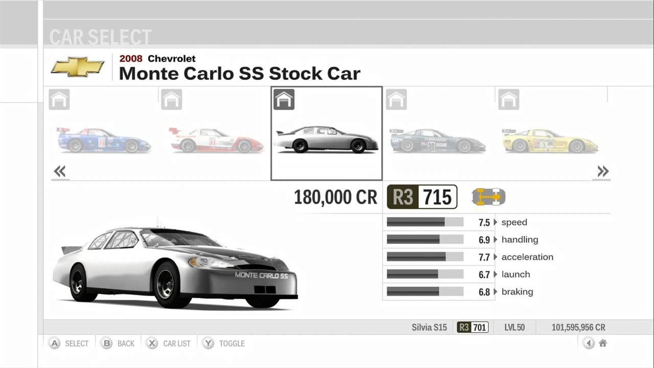 Forza Motorsport 3 Ultimate Collection All Cars HD Part 1 (518 Cars ...