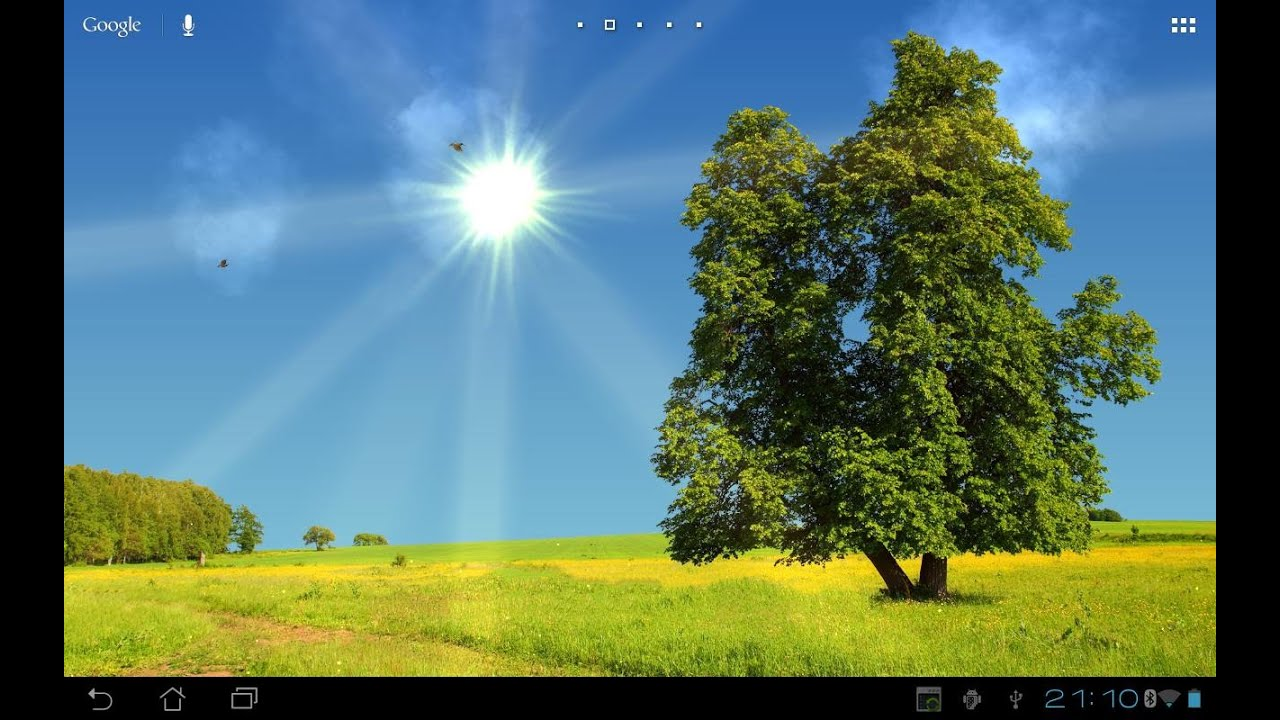 True Weather LWP - Live Wallpaper For Android - Free Download