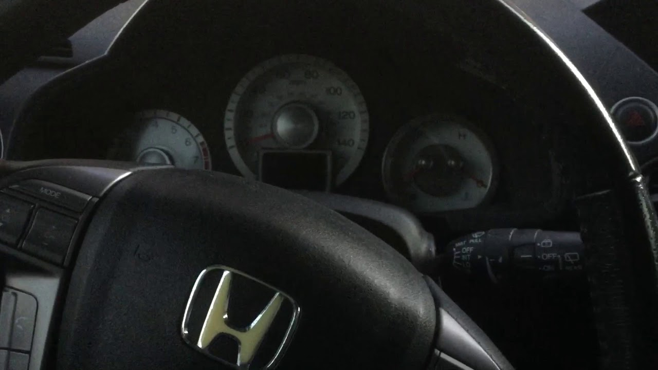 Honda Pilot Touring Service Light B1 Reset Youtube
