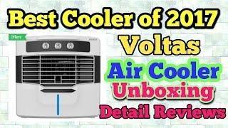 Best Air Cooler of the year   Voltas Air Cooler VM-W50MW Unboxing & reviews   50 litre  