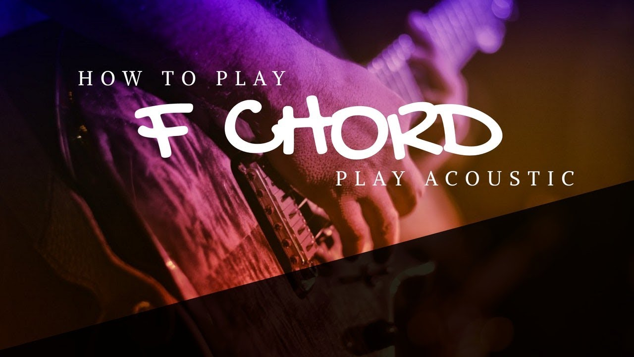 How to play f chord on guitar beginner guitar chords youtube how to play f chord on guitar beginner guitar chords hexwebz Gallery