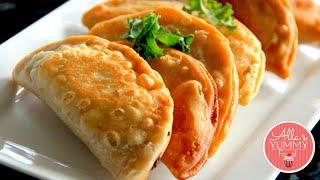 How to make Chebureki | Чебуреки с мясом, домашние чебуреки