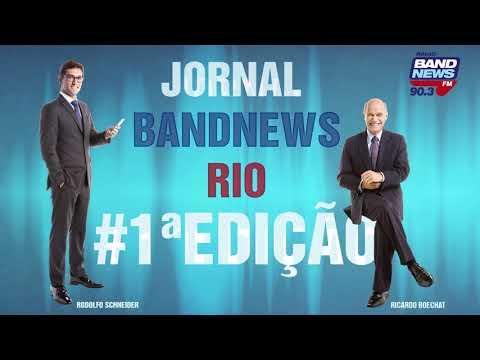 Jornal BandNews Rio - 1ª Edição, com Ricardo Boechat e Rodolfo Schneider (24/08/2018)