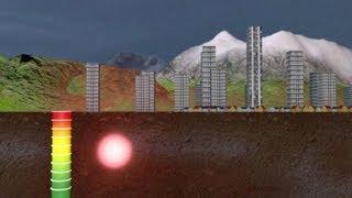 فيديو بياني عن كيفية حصول الزلازل