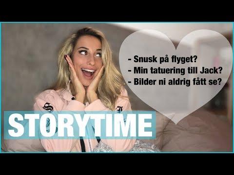 Storytime | BERÄTTAR ALLT OM VÅRT FÖRHÅLLANDE! - Vad hände på flyget?