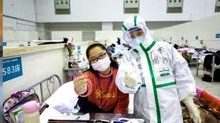 Nữ sinh Trung Quốc miệt mài ôn bài trong bệnh viện dù nhiễm Covid-19
