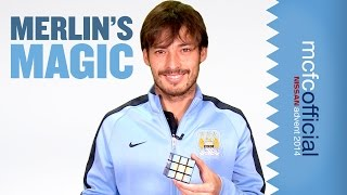 SILVA'S RUBIK'S CUBE MAGIC | Man City Advent Calendar 2014 | Day Two