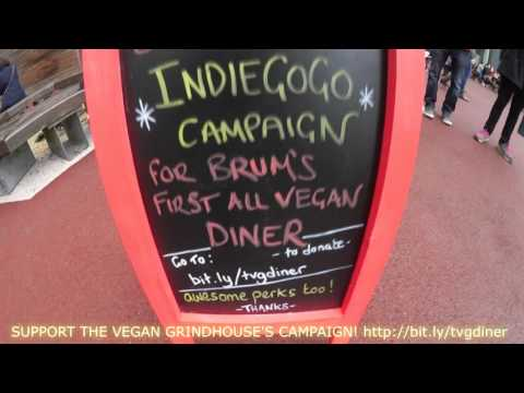 Visiting The Vegan Grindhouse in Birmingham!