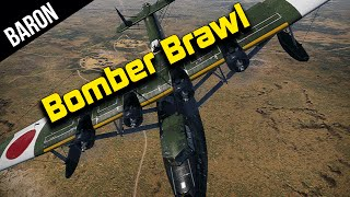 War Thunder - Bomber Brawl!  Mighty Sea Dragon is OP!