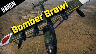 War Thunder - Bomber Brawl!  Mighty Sea Dragon is OP!
