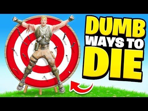 15 DUMB Ways To DIE In Fortnite (Hilarious)