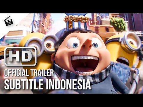 MINIONS 2: THE RISE OF GRU Official Trailer (2020) HD Subtitle Indonesia   Premium Trailer ID