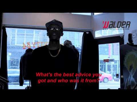 Raz Fresco Interview With Walder (ThisIsWalder.com) | 2013  [HD]