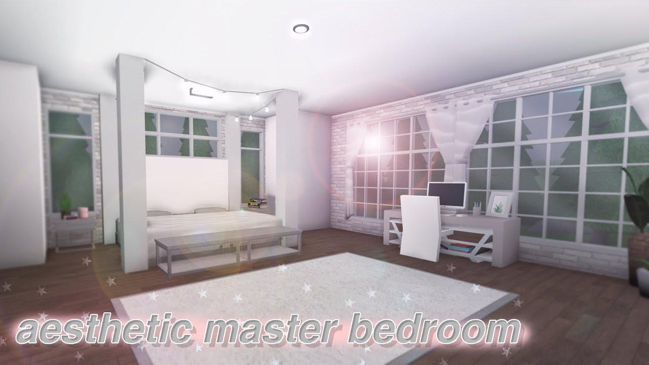 Aesthetic Bedroom Bathroom 22k Bloxburg Build Alixia Youtube