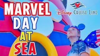 Marvel Day at Sea! Disney Cruise