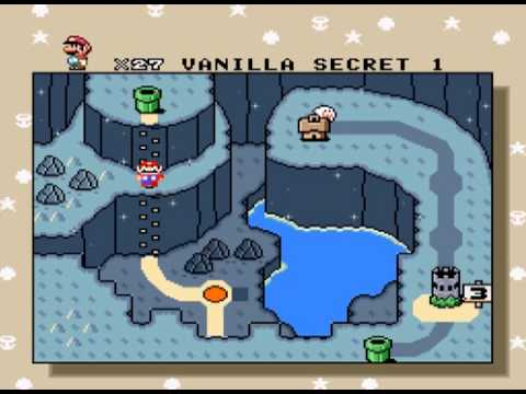 Super Mario World Vanilla Dome Music Youtube