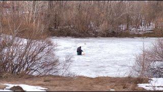 Новости UTV. Жителей Салавата предупреждают об опасности весенней рыбалки
