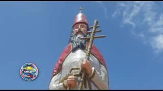 Bajada de la imagen de San Pedro apóstol e inauguración de la escultura