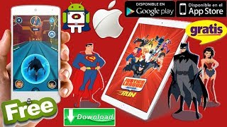 Justice League Action Run Gratis android/iphone analise+review+Gameplay+Download free
